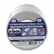 Алюминиевая клейкая лента UNIBOB 100мм*50м, 70мкм
