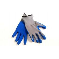 Перчатки нейлоновые с нитриловым покрытием ЛЮКС