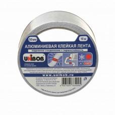 Алюминиевая клейкая лента UNIBOB 50мм*10м, 70мкм