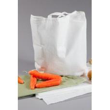 Мешок полипропиленовый на 10 кг, 35см*53см ВС, белый 1 ручка