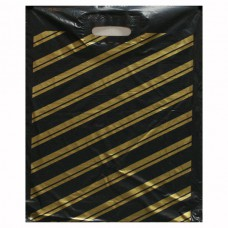 """Пакет ПВД """"Золотая полоса""""  38(+3)*50, 50 мкм"""