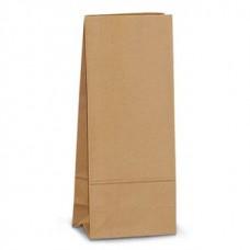 Пакет крафт бурый без ручек 28,5*13*7