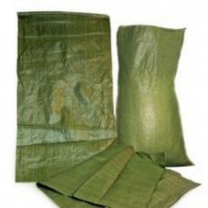 Мешок полипропиленовый на 25 кг, 40см*65см зеленый