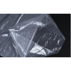 Мешок полипропиленовый на 25 кг, 45см*75см ВС прозрачный с завязками