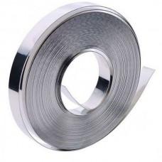 Металлическая лента 20мм*0,5 мм жесткая неоцинкованная