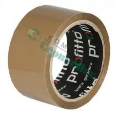 Скотч PROFITTO 48мм*55м, 40 мкм коричневый